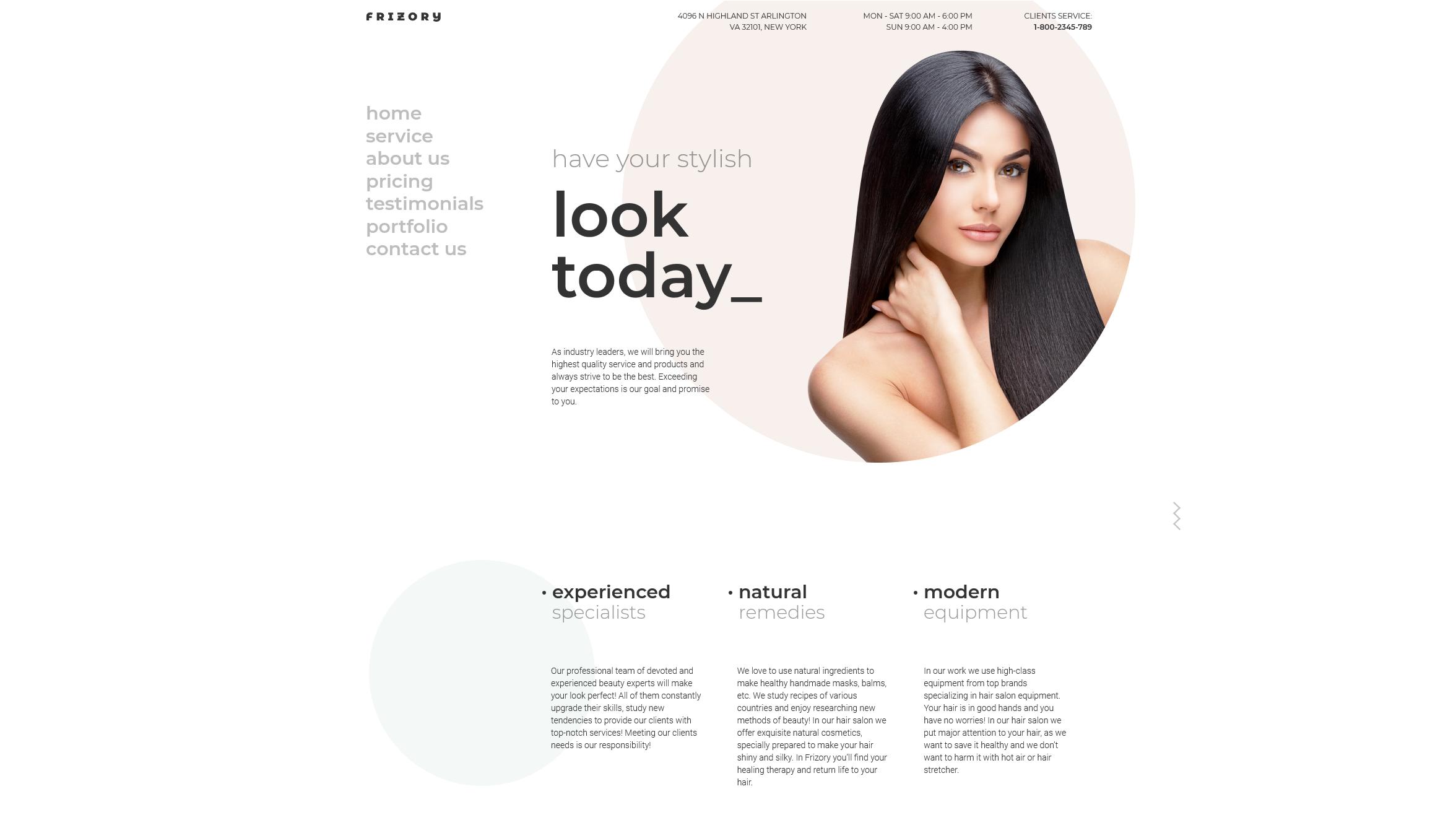 Frizory – Stylish Looks