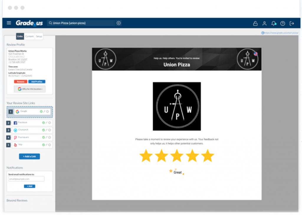 Review Management Platform