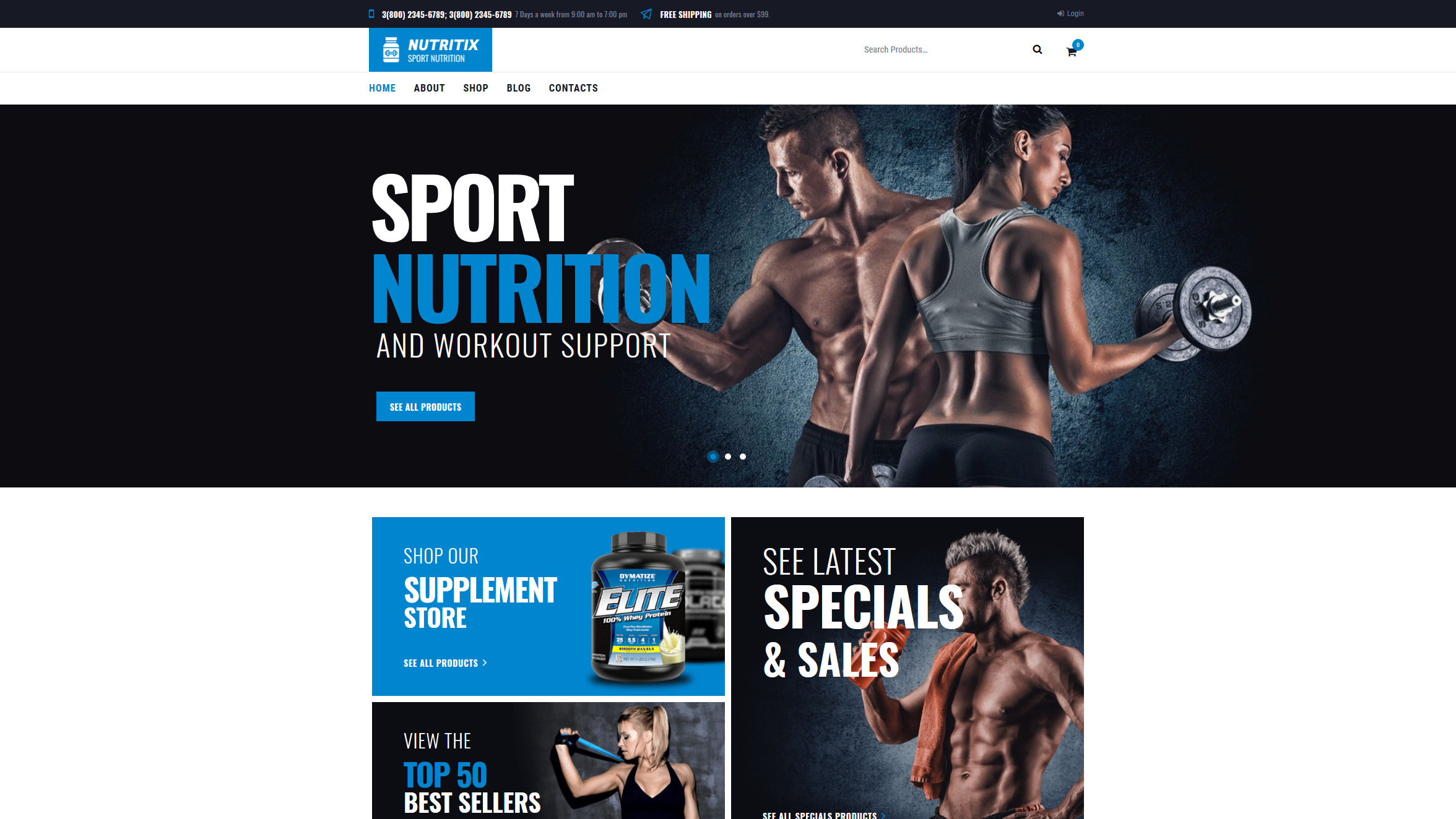 Nutritix – Just another WordPress site