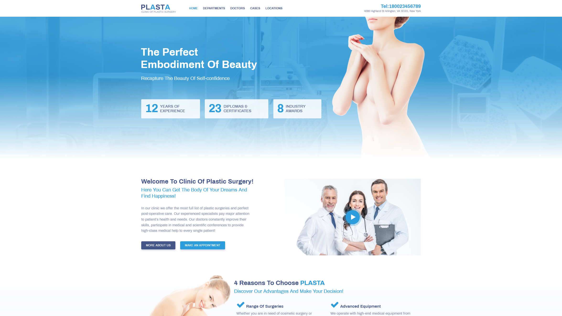 Plasta – Clinic of Plastic Surgery