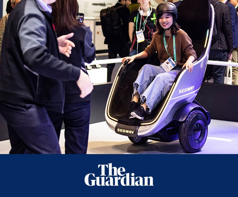 Segways newest self-balancing vehicle is similar to an electric wheelchair. 1 Segways newest self-balancing vehicle is similar to an electric wheelchair. Segways newest self-balancing vehicle is similar to an electric wheelchair.