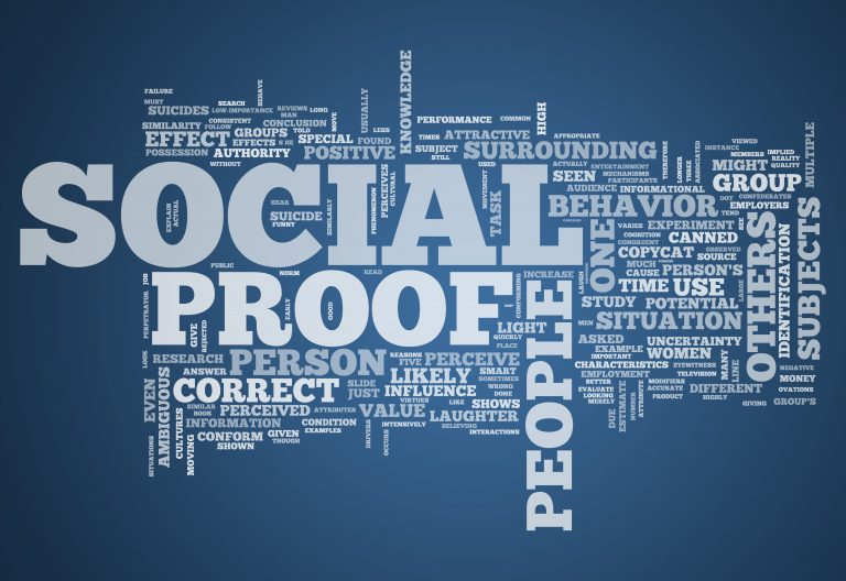 Use Social Proof to expand your Practice's Marketing Efforts
